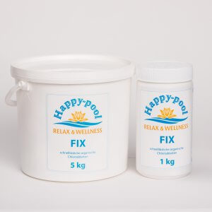 Fix Chlortablette 20 Gramm im Ein- und Fünf-Kilo-Gebinde